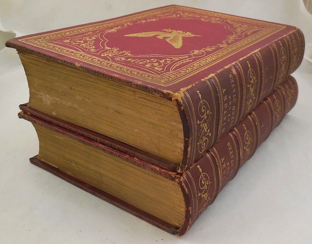 THE HISTORY OF THE UNITED STATES, by W.H. Bartlett - 1856 [Vols 1&3]