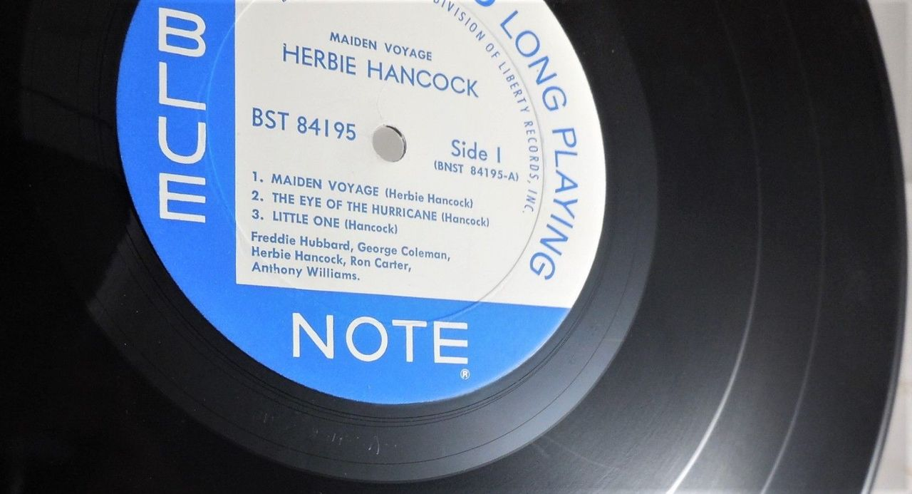 LP: Herbie Hancock on MAIDEN VOYAGE - 1966