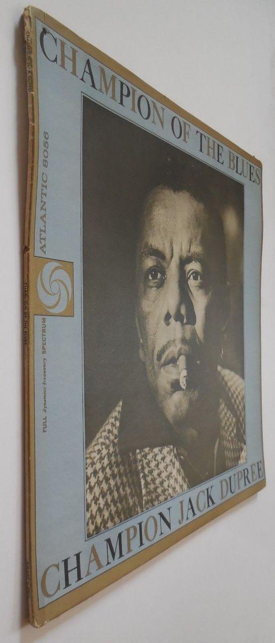 LP: Champion Jack Dupree, on CHAMPION OF THE BLUES - 1961 [1st Press]