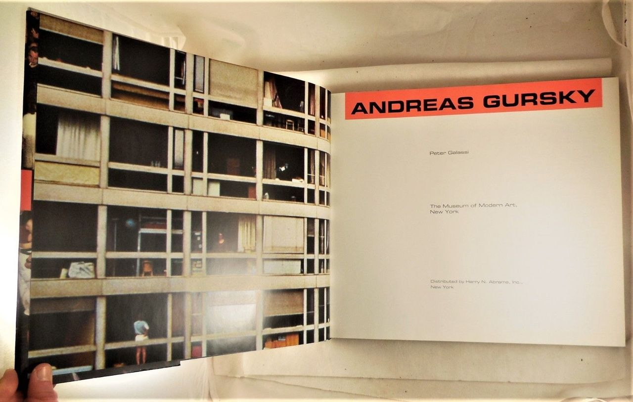 ANDREAS GURSKY, by Peter Galassi - 2001