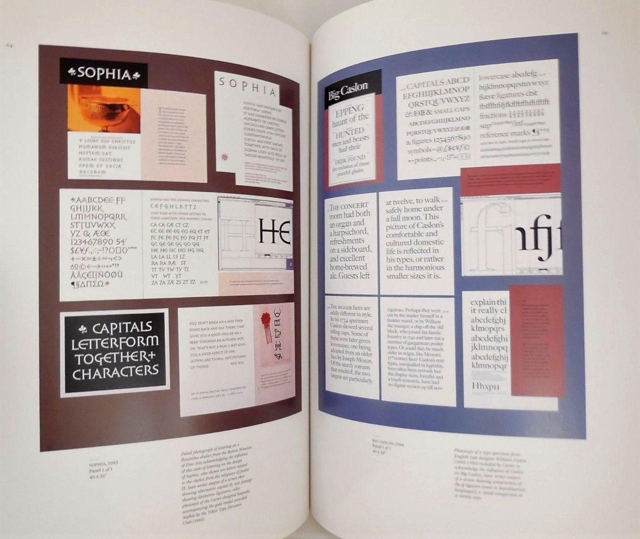 TYPOGRAPHICALLY SPEAKING: THE ART OF MATTHEW CARTER - 2003 [1st Ed]