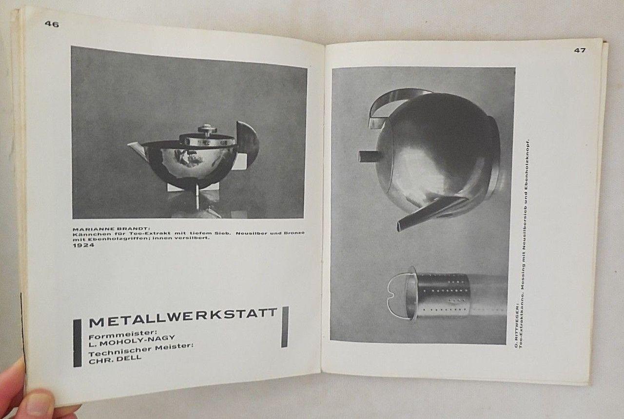 NEUE ARBEITEN DER BAUHAUSWERKSTATTEN, by Walter Gropius - 1925