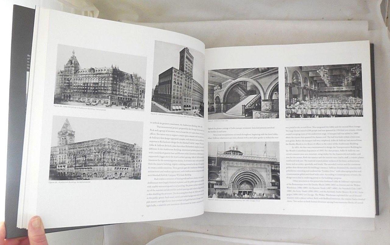 COMPLETE ARCHITECTURE OF ADLER & SULLIVAN, by Richard Nickel & Aaron Siskind - 2010