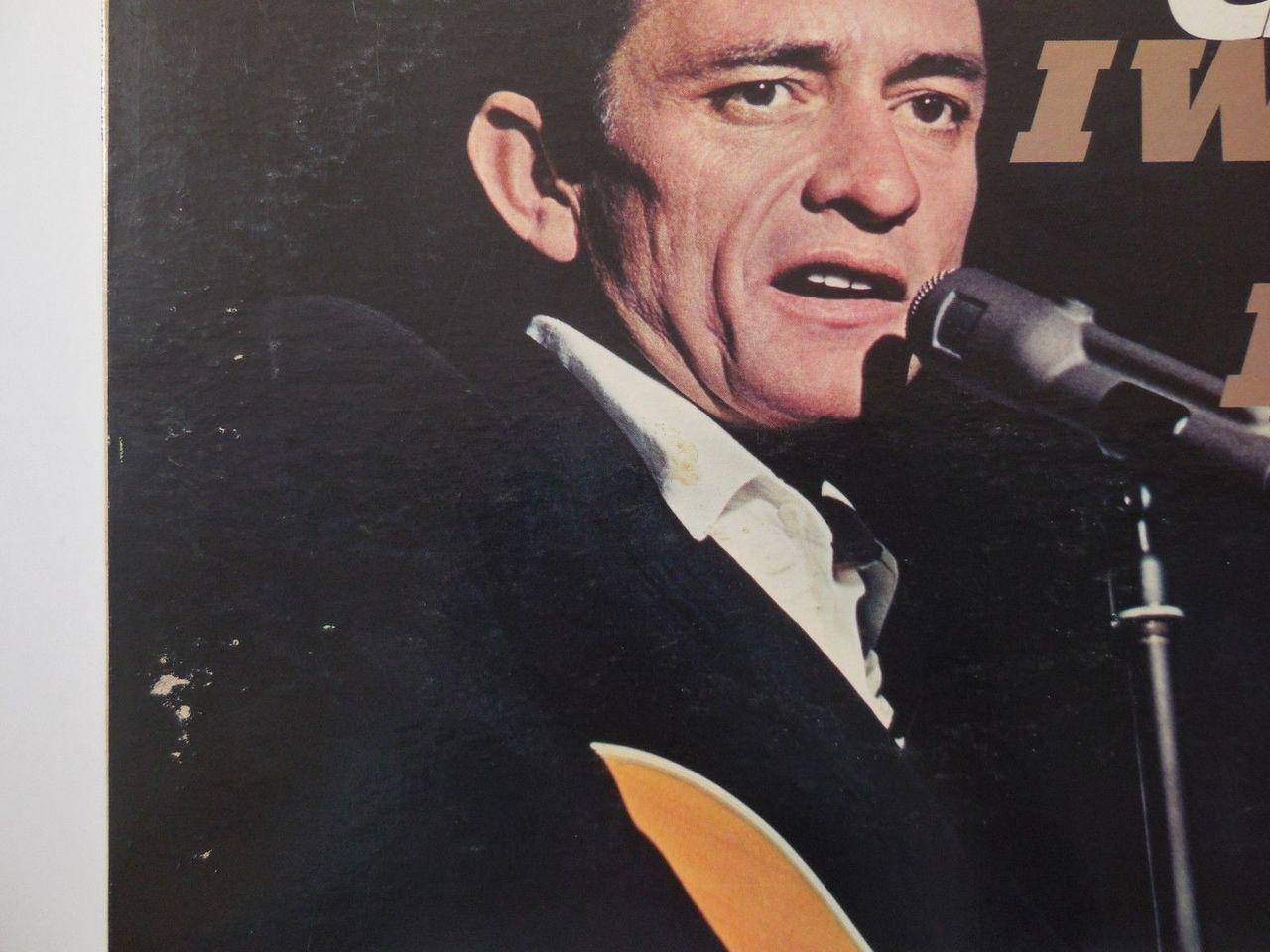 LP: Johnny Cash, on I WALK THE LINE - 1964