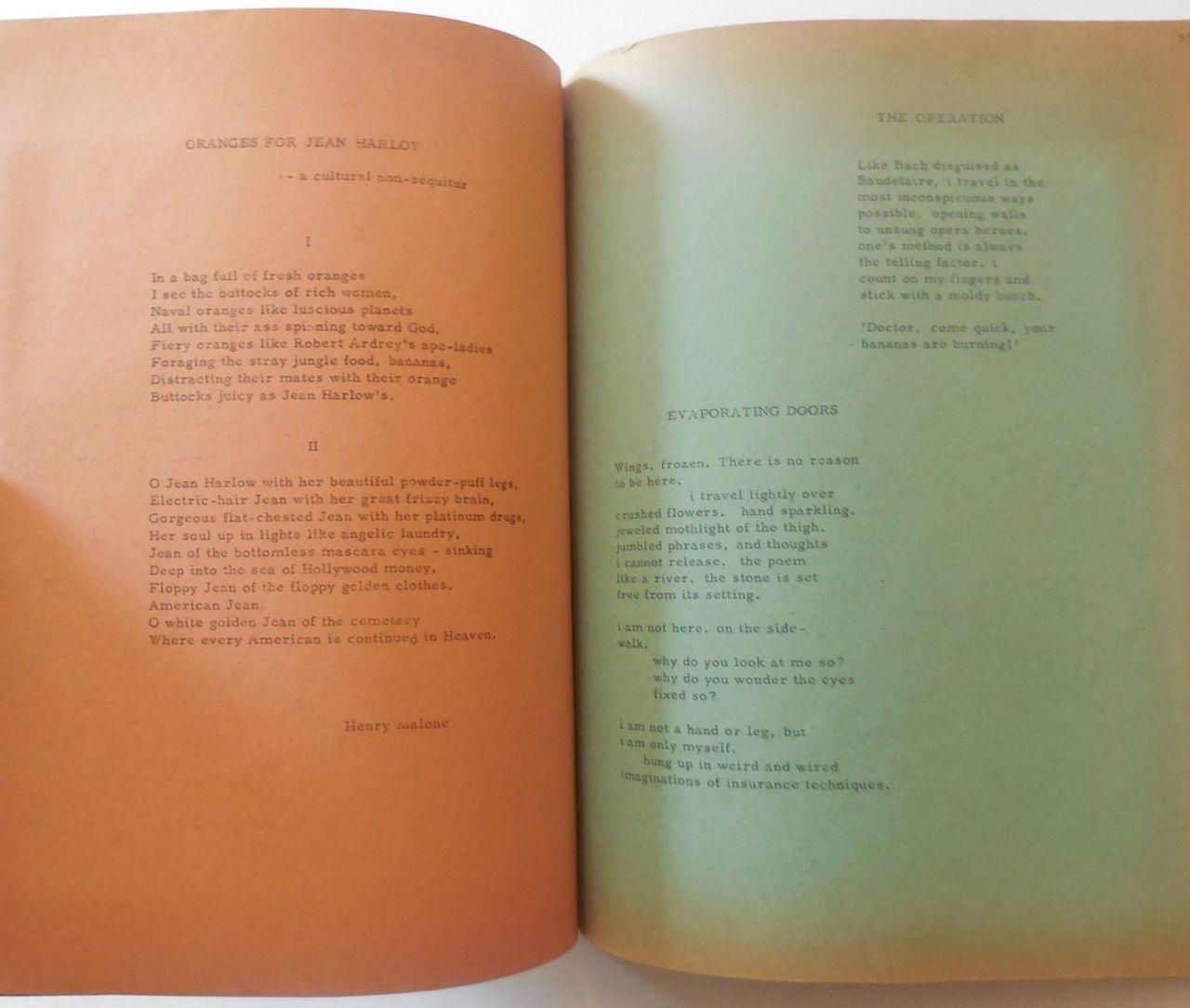 WORK/5, by Trans-Love Energies - 1968 [Ltd Ed]
