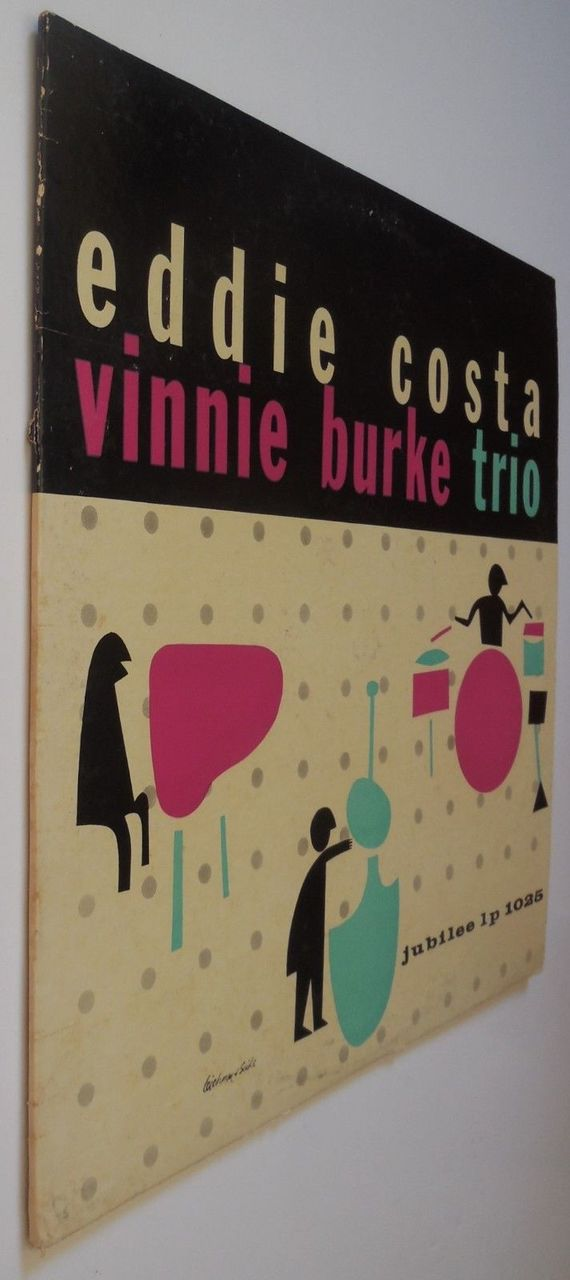 LP: Eddie Costa, on VINNIE BURKE TRIO - 1956