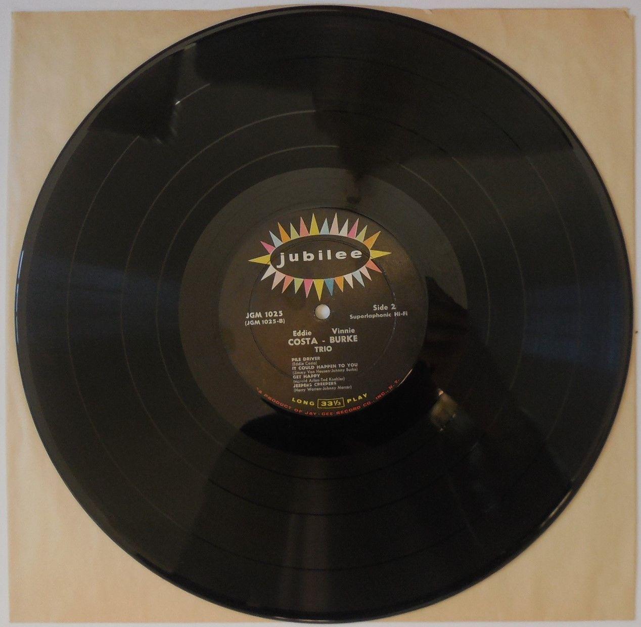 LP: Eddie Costa, on VINNIE BURKE TRIO - 1956