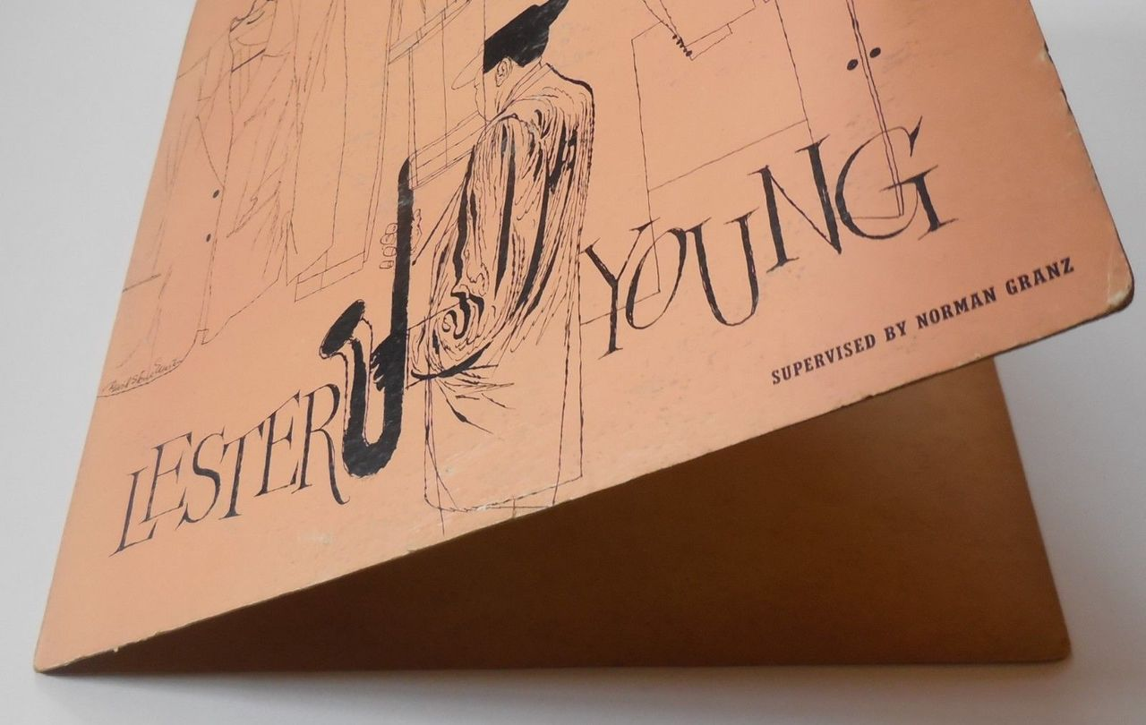 LP: Lester Young, on LESTER YOUNG - 1955