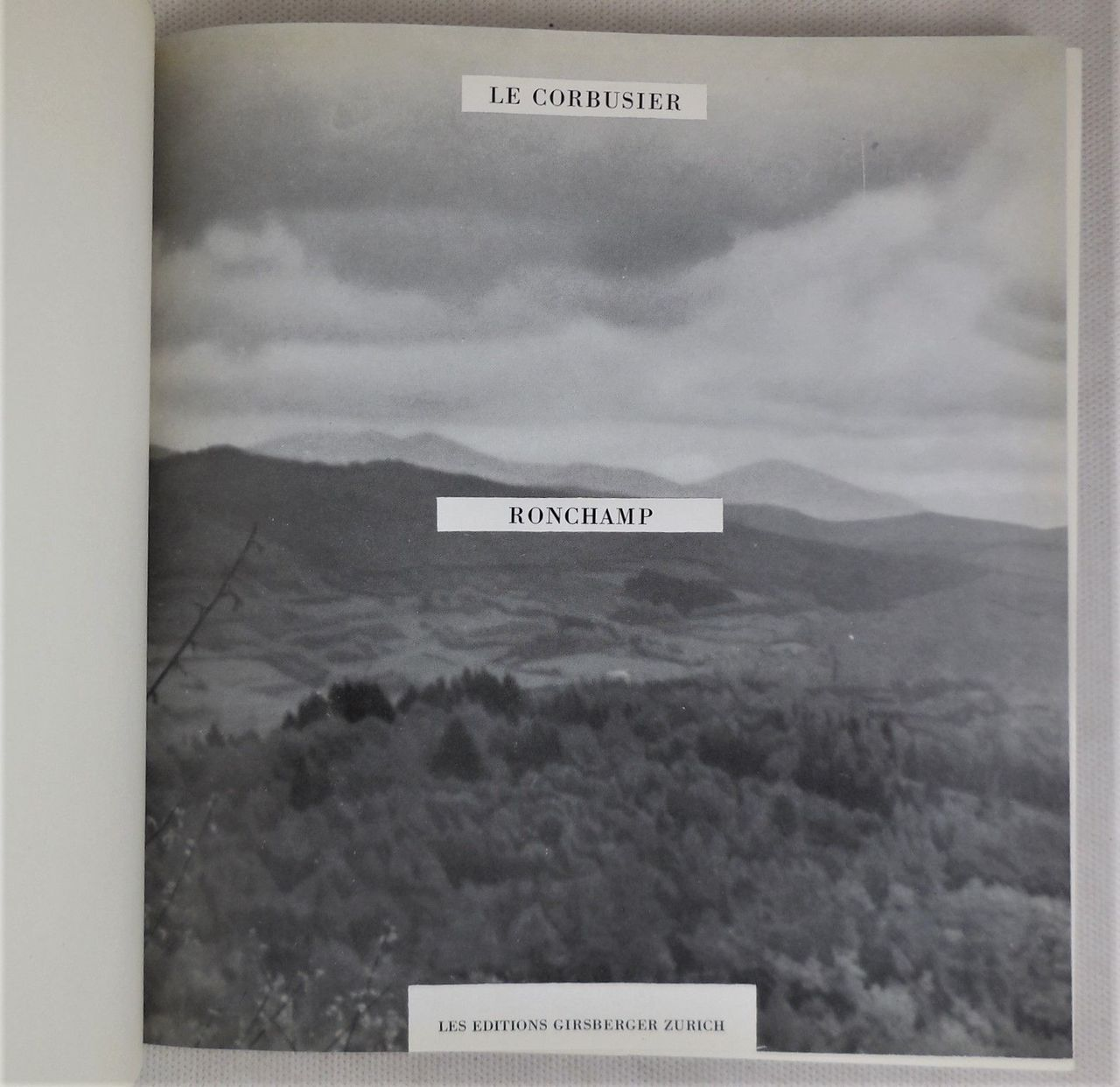 RONCHAMP, by Le Corbusier - 1957