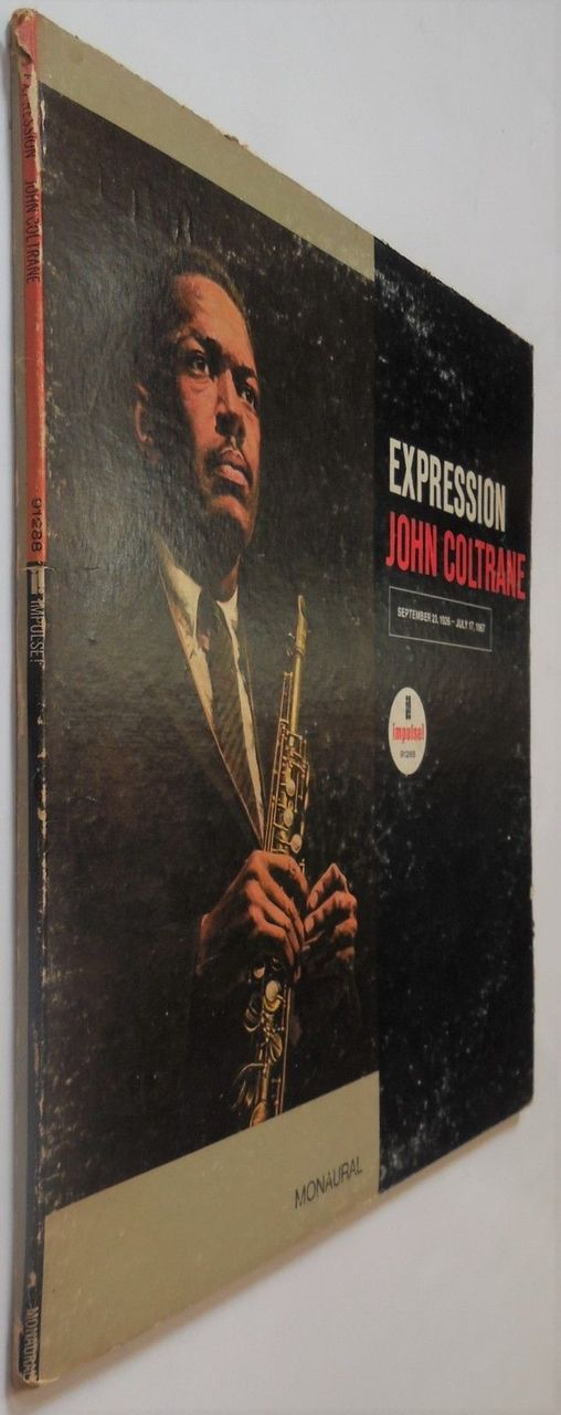 LP: John Coltrane, on EXPRESSION - 1967