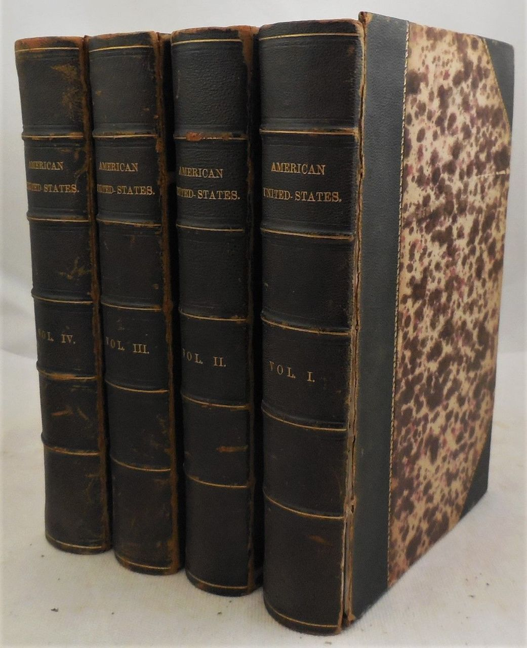 AN HISTORICAL, GEOGRAPHICAL, COMMERCIAL AND PHILOSOPHICAL VIEW OF THE AMERICAN UNITED STATES... in 4 Vols, by William Winterbotham - 1795