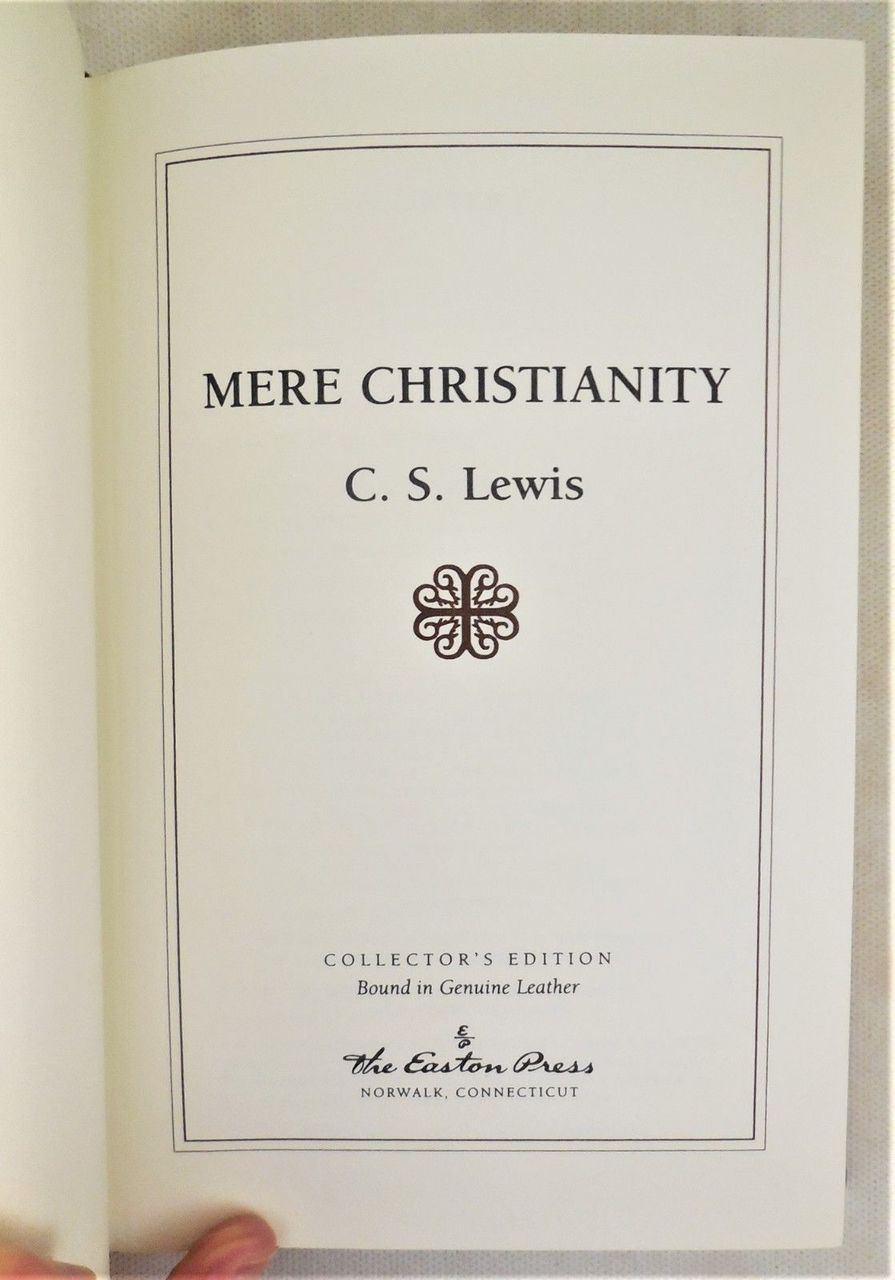 C.S. LEWIS RELIGIOUS CLASSICS: 5 Volume Set, Easton Press - 2002