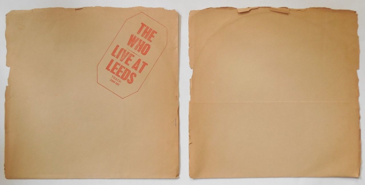 LP: The Who, on LIVE AT LEEDS - 1970