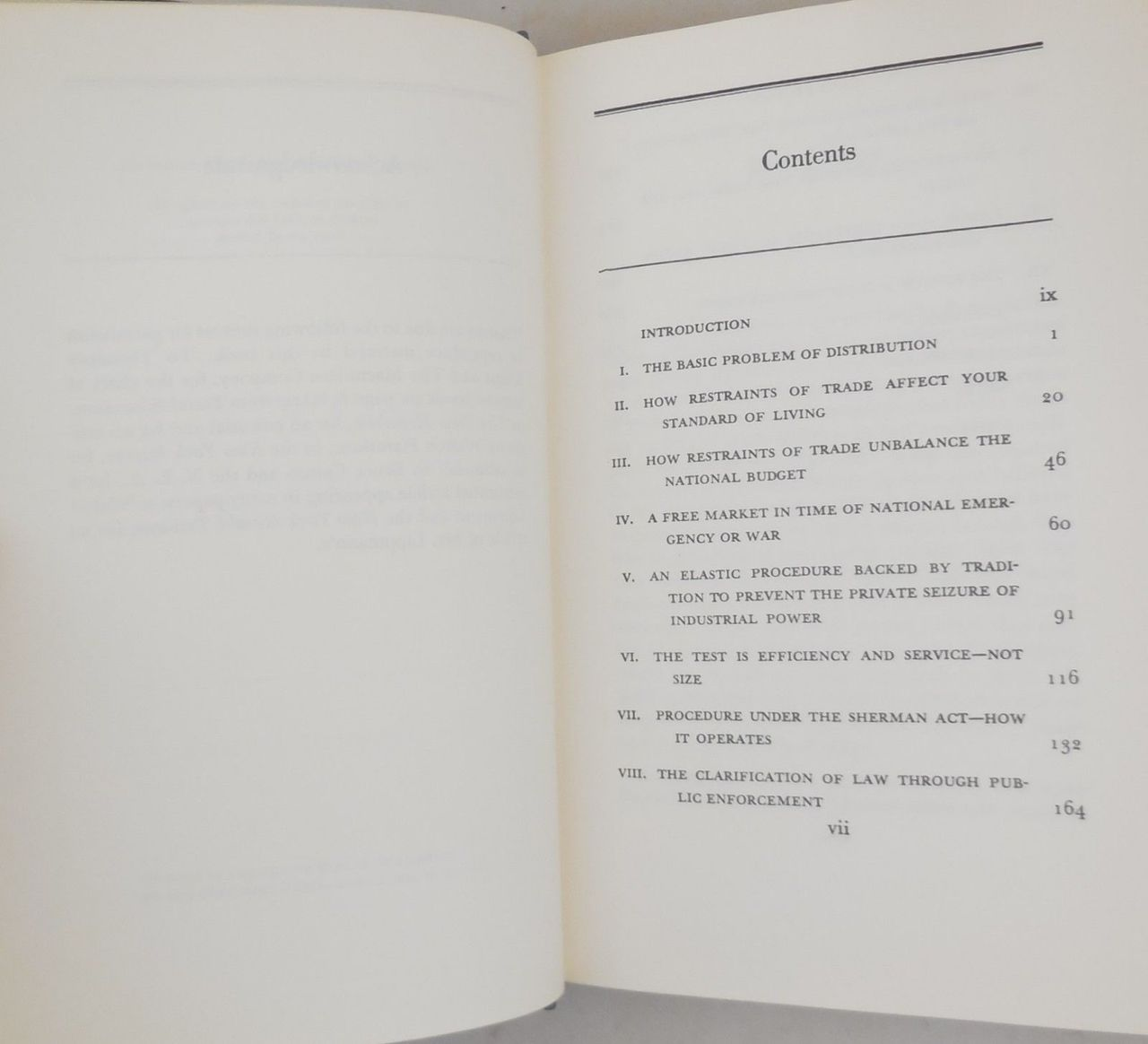 THE BOTTLENECKS OF BUSINESS, by Thurman W. Arnold - 1973