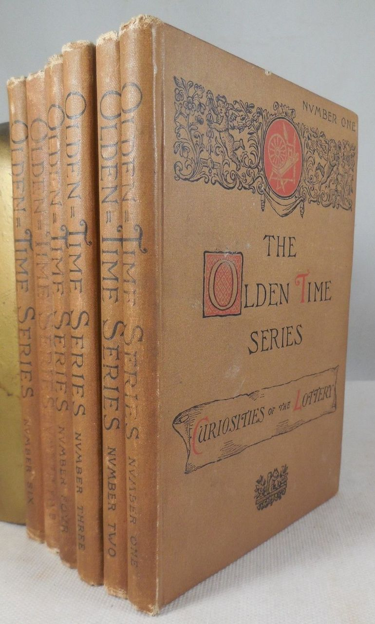 THE OLDEN TIME SERIES: Gleanings Chiefly from Old Newspapers of...Massachusetts , by Henry M. Brooks - 1886 [6 Vols]