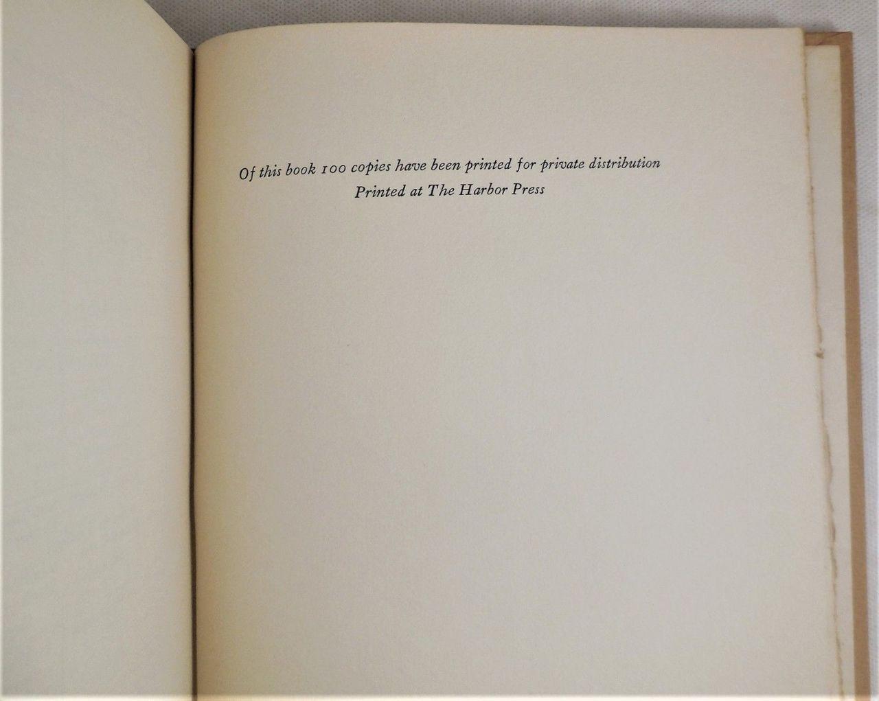 THREADS OF MEMORY, by Mary Eva Hird - 1932 [1st Ltd Ed]