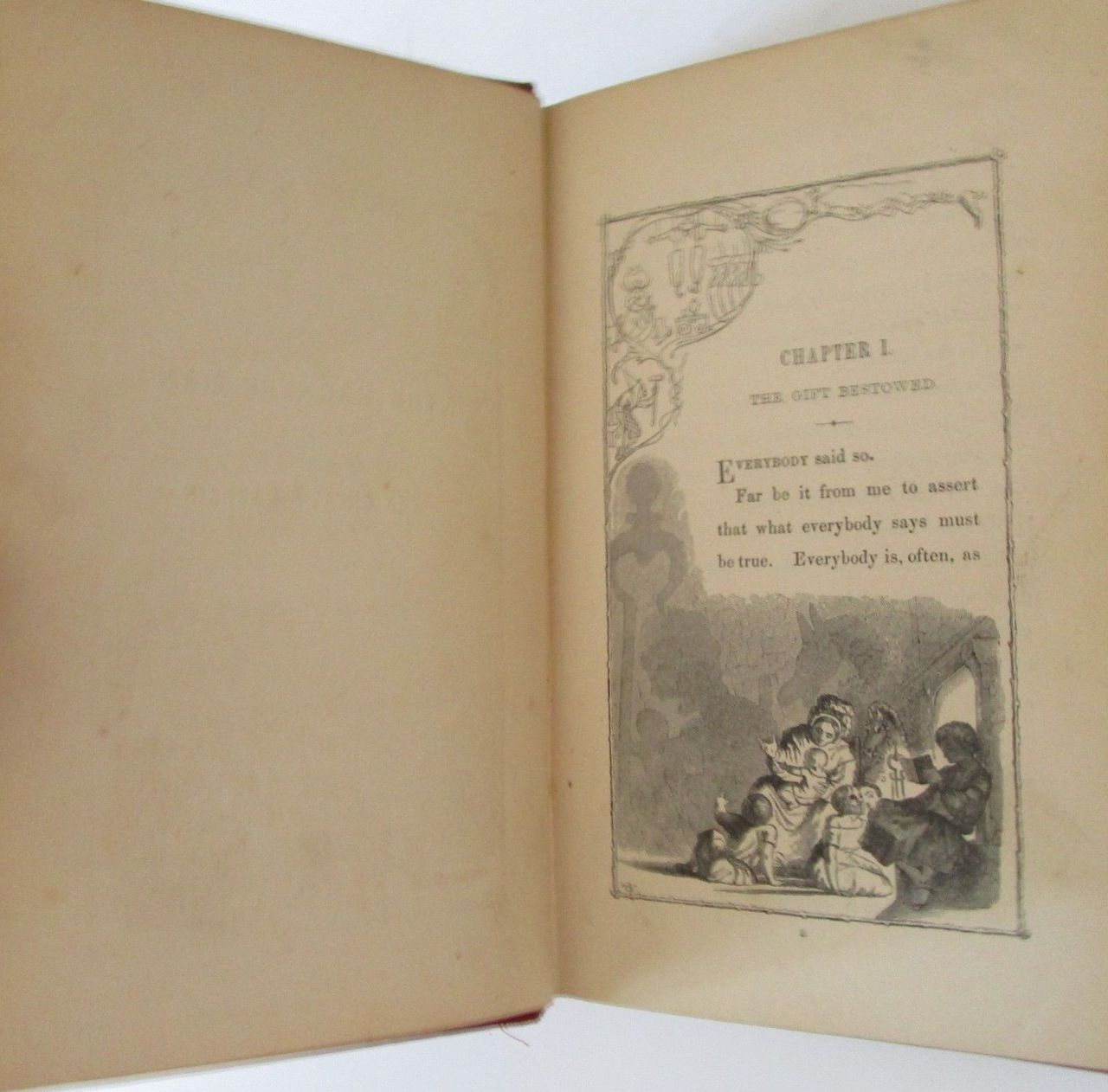 THE HAUNTED MAN & THE GHOST'S BARGAIN, by Charles Dickens - 1848 [1st Ed, Engravings]
