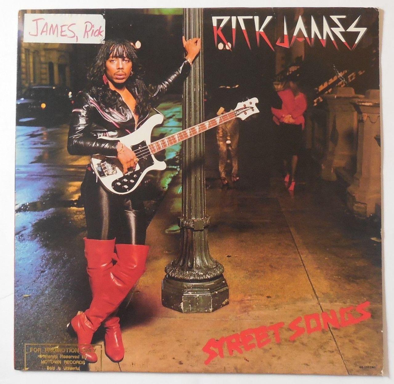 LP: Rick James - STREET SONGS - 1981 [Promo]