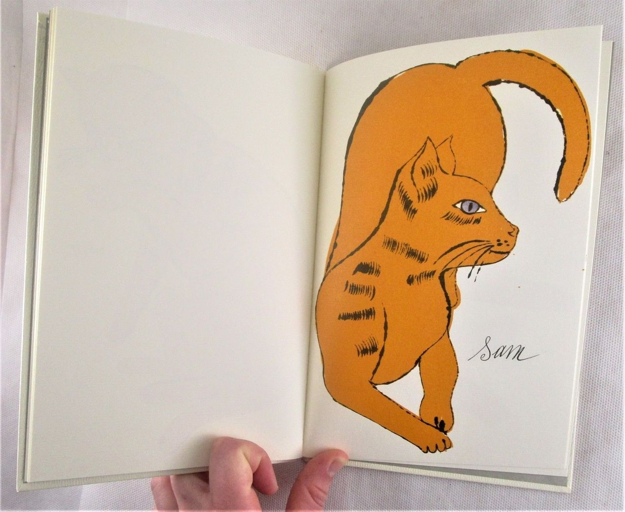 25 CATS NAME SAM AND ONE BLUE PUSSY; and HOLY CATS, by Andy Warhol; Charles Lisanby -1987 [2 Vols, Ltd Ed]