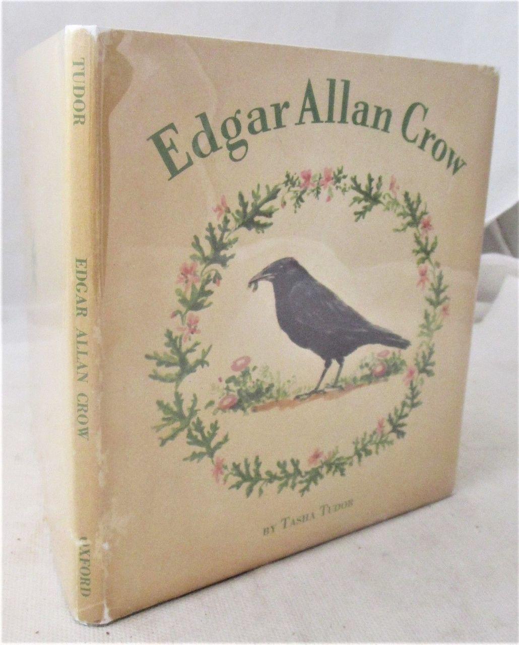EDGAR ALLAN CROW, by Tasha Tudor - 1953 [1st Ed]