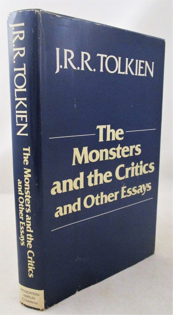 THE MONSTERS & THE CRITICS, AND OTHER ESSAYS, by JR.R. Tolkien - 1984