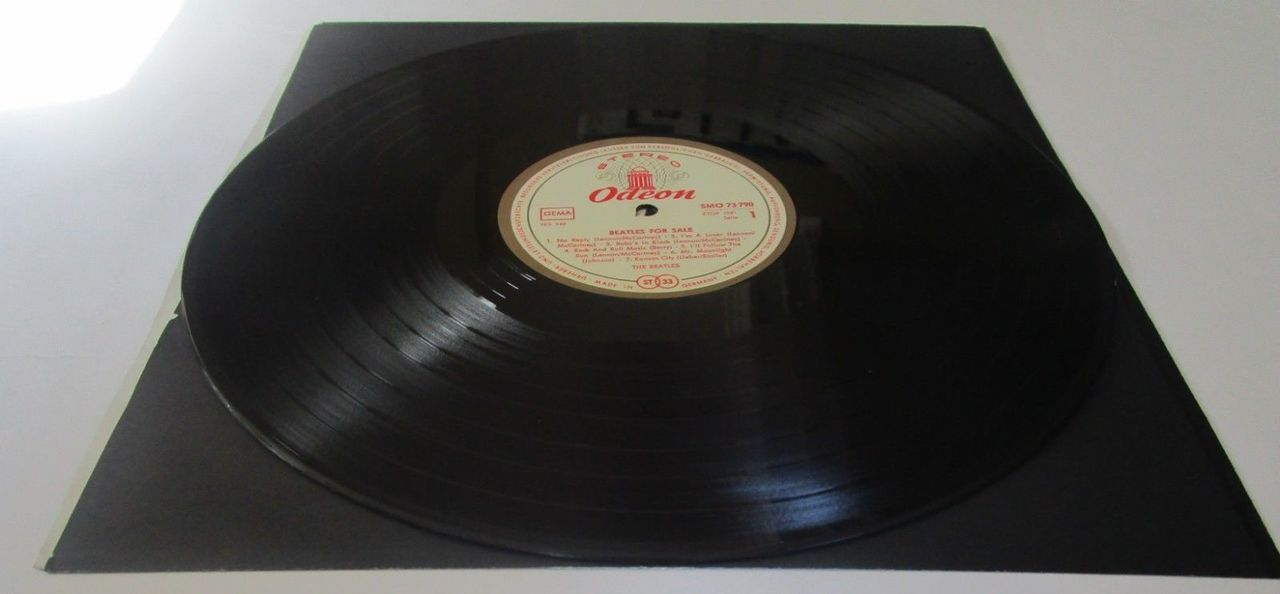 LP: The Beatles, on BEATLES FOR SALE - 1966