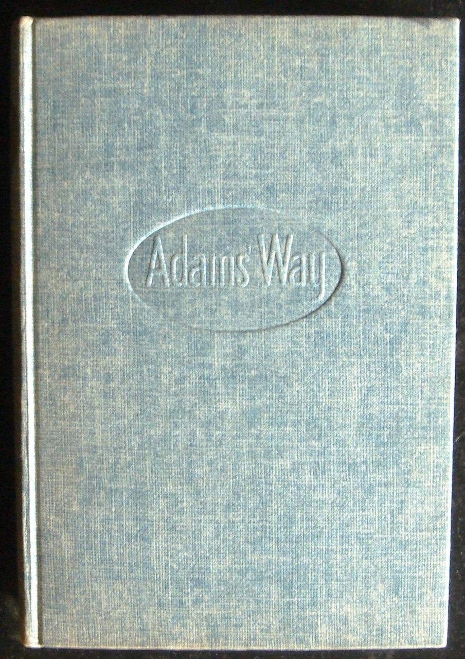 ADAM'S WAY, by Lonnie Coleman -1953 [1st Ed]