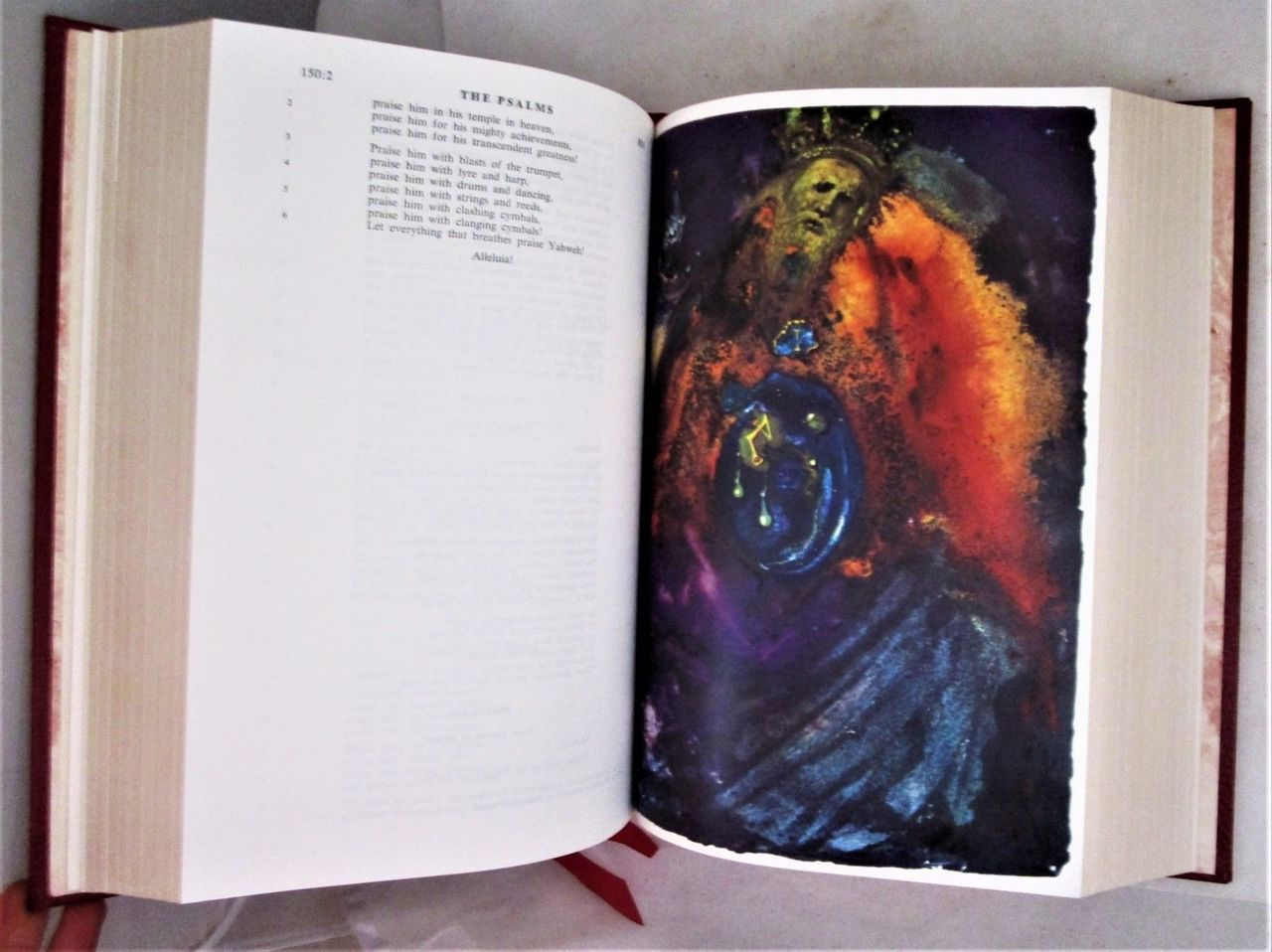 THE JERUSALEM BIBLE, illustrated by Dali - 1970