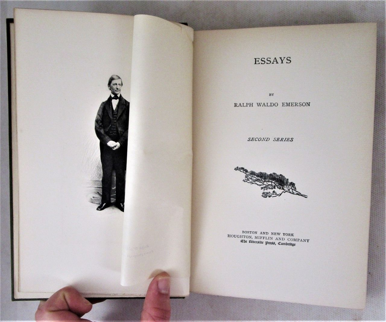 THE WORKS OF RALPH WALDO EMERSON - 1883/7 [12 Vols]