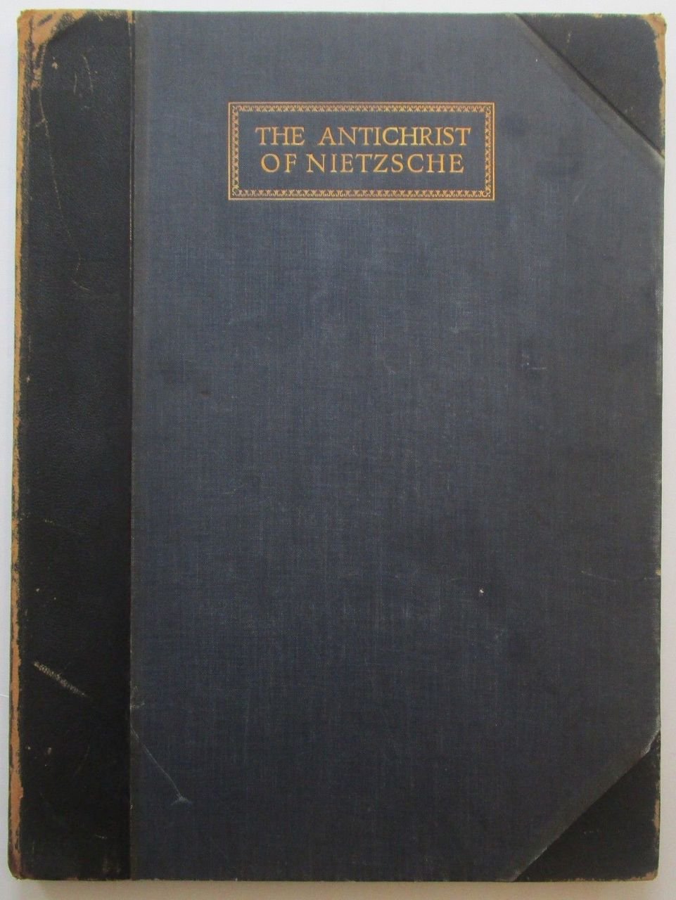 THE ANTICHRIST OF NIETZSCHE, by Friedrich Nietzsche; w/Norman Lindsay - 1928 [53/550]