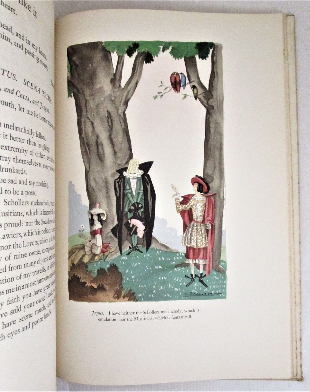 Shakespeare's AS YOU LIKE IT, art by Sylvain Sauvage  - 1939 [ 905/950]