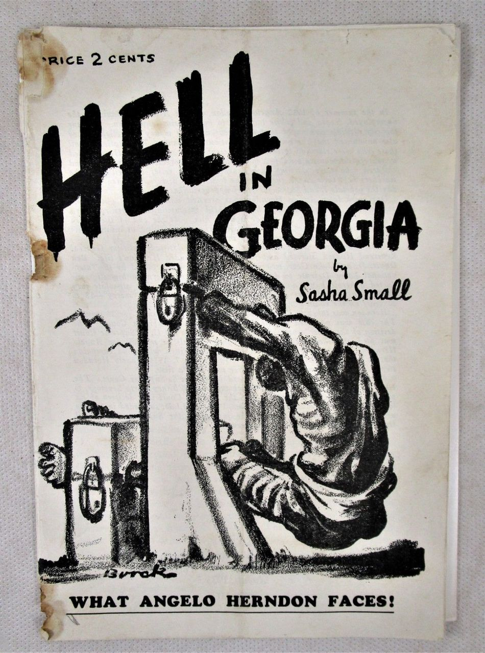 HELL IN GEORGIA, by Sasha Small - 1935