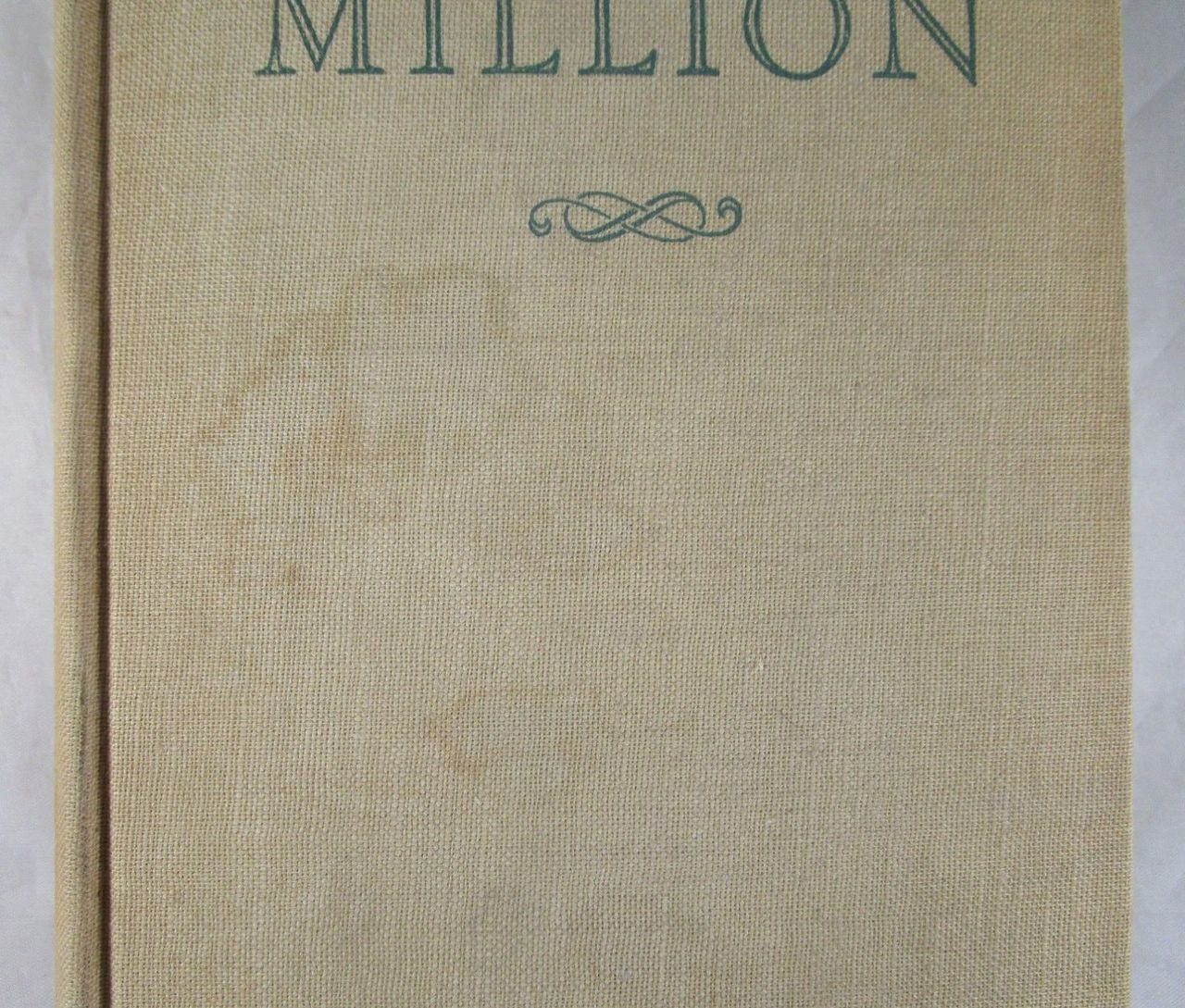 A COOL MILLION: THE DISMANTLING OF LEMUEL PITKIN, Nathanael West - 1934 [1st Ed]