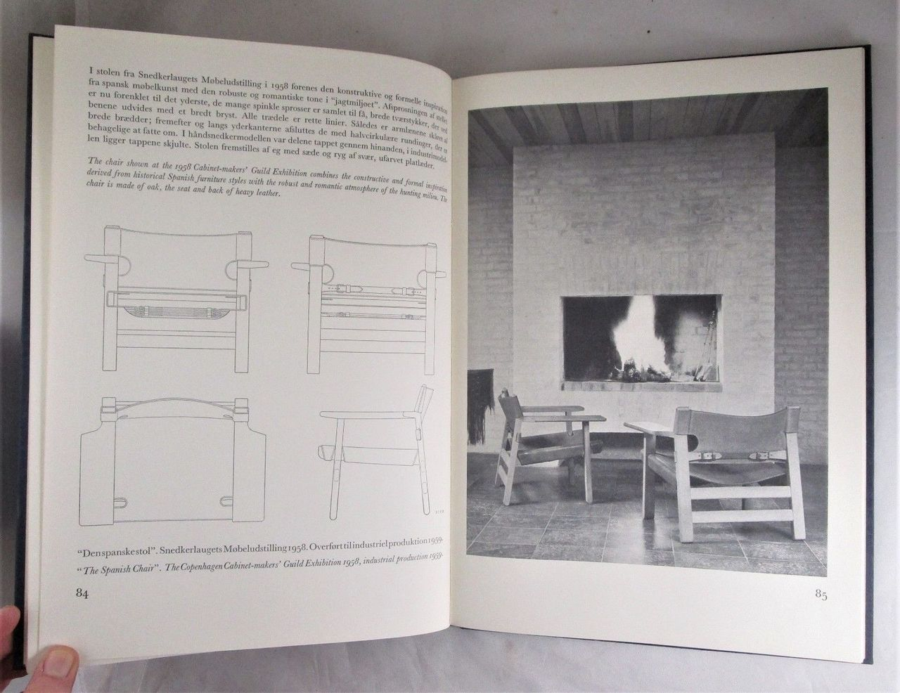 FURNITURE DESIGNED BY BORGE MOGENSEN by Arne Karlsen - 1968 Danish Modern Plans