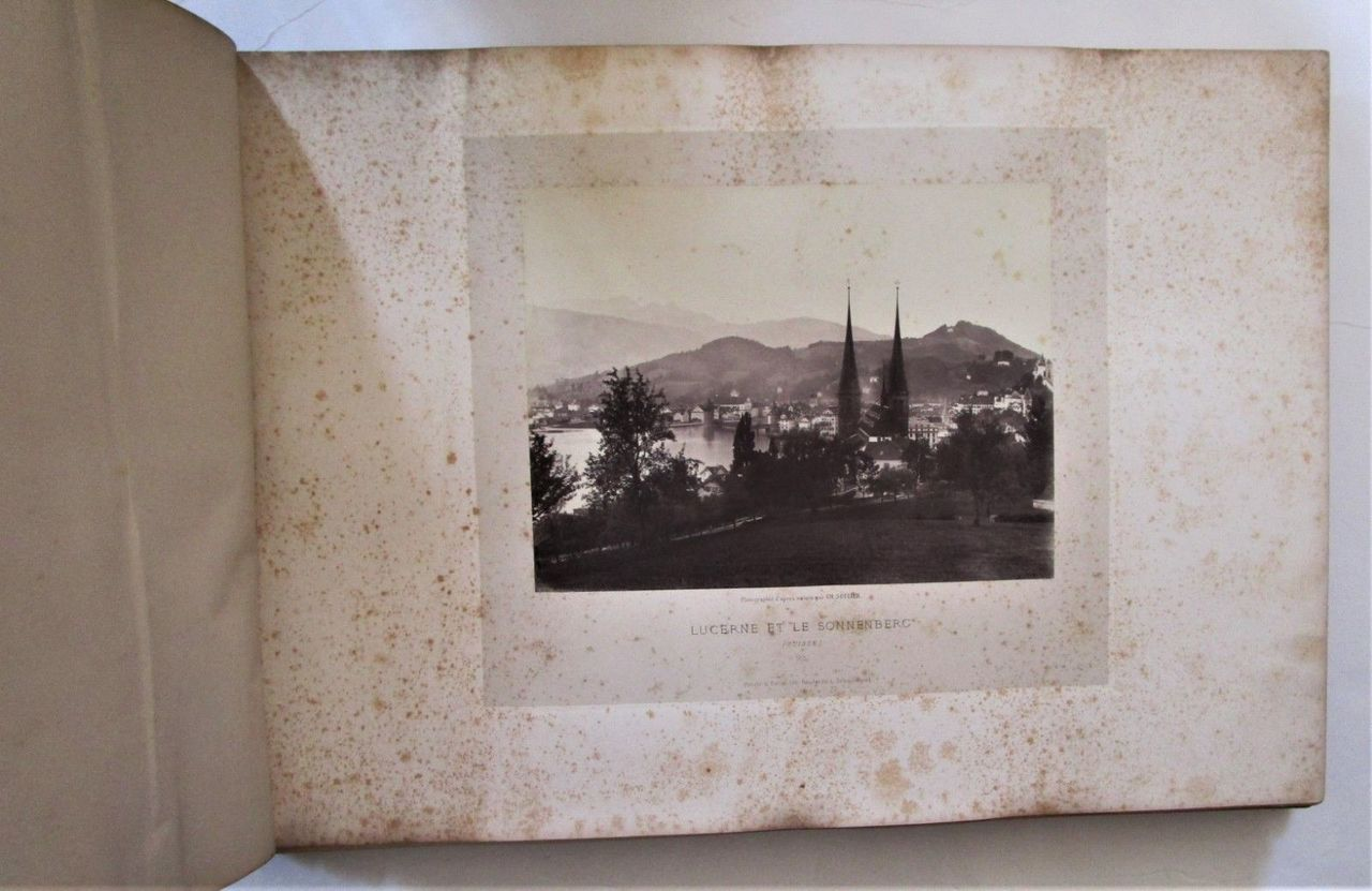PHOTOGRAPHS OF ALPINE SCENERY, by Charles Soulier - c.1869