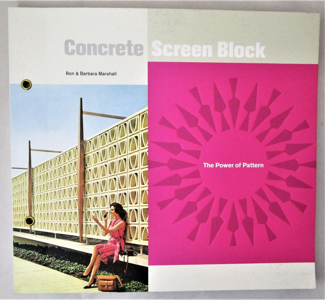 CONCRETE SCREEN BLOCK: THE POWER OF PATTERN, by R&B Marshall - 2018