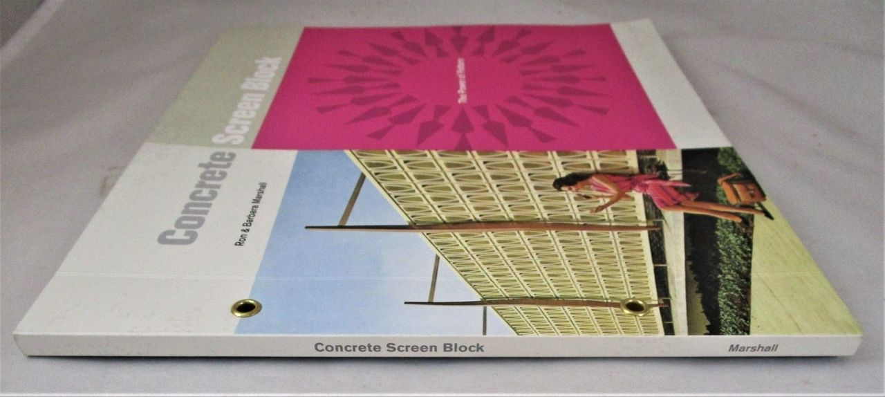 CONCRETE SCREEN BLOCK: THE POWER OF PATTERN, by R&B Marshall - 2018 Mid-Century