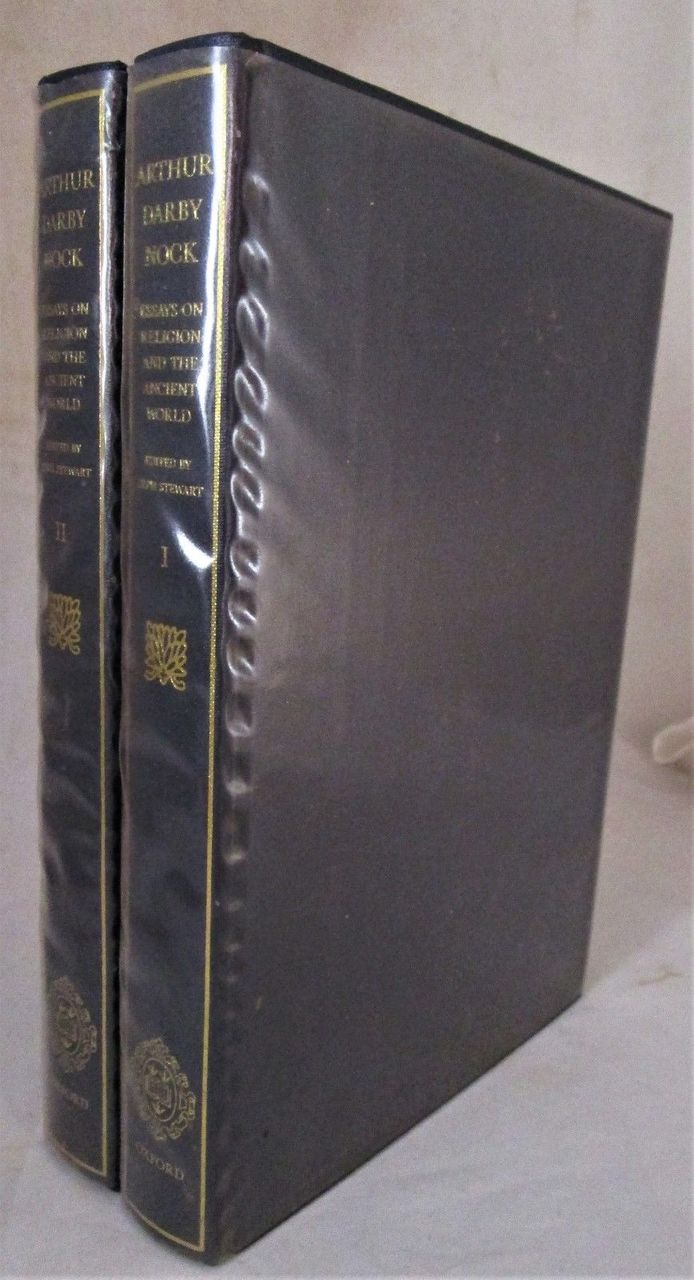 ESSAYS ON RELIGION AND THE ANCIENT WORLD, by Arthur Darby Nock - 1986 [2 Vols]