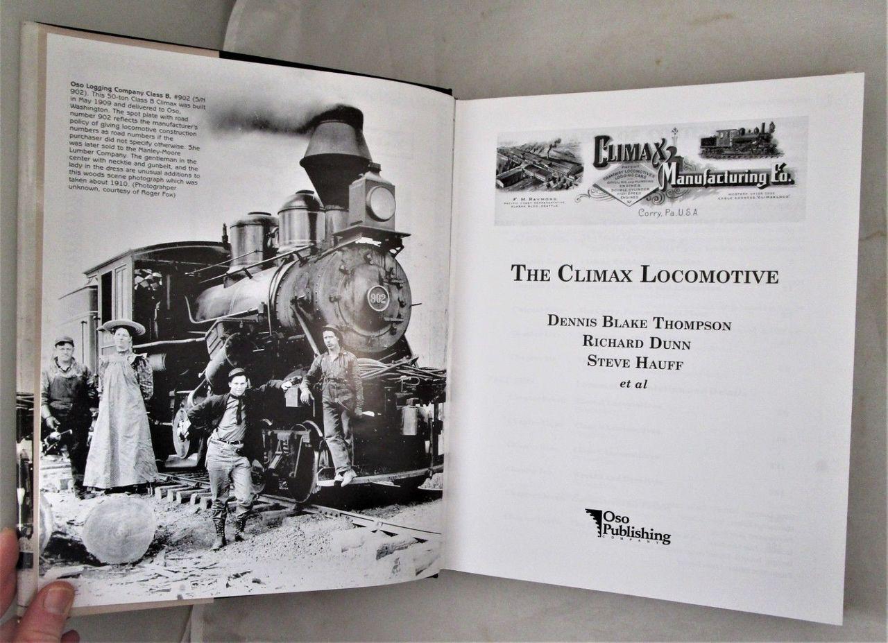 THE CLIMAX LOCOMOTIVE, by Dennis Blake Thompson - 2002