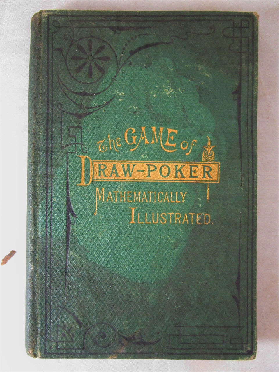 GAME OF DRAW-POKER, MATHEMATICALLY ILLUSTRATED, by Winterblossom - 1875 [1st Ed]