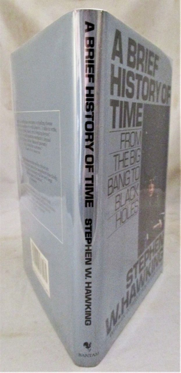 A BRIEF HISTORY OF TIME, by Stephen Hawking - 1988 [True RECALLED 1st Ed]