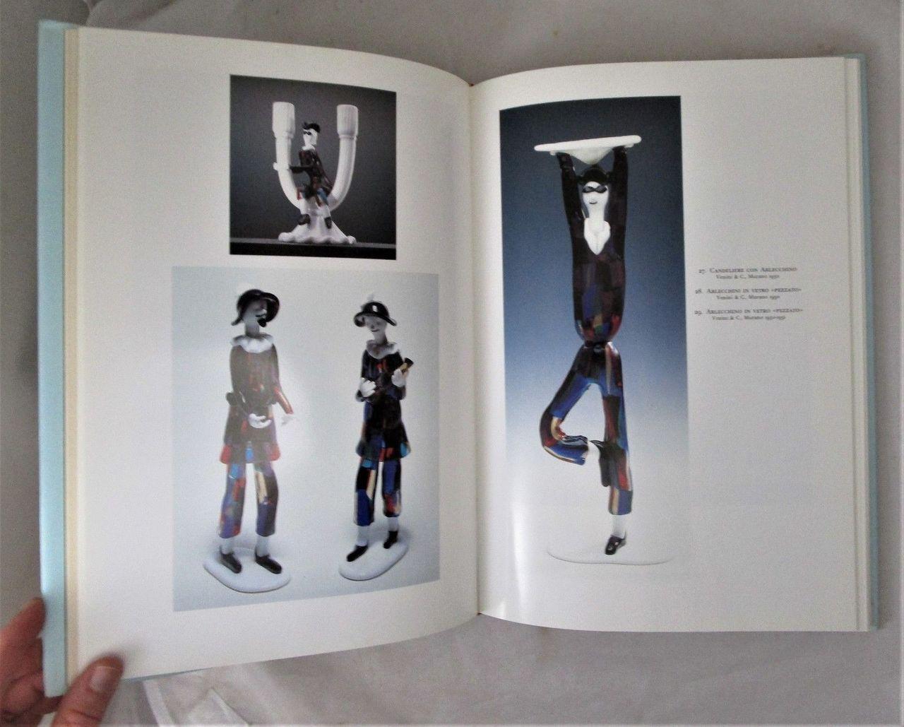 I VETRI DI FULVIO BIANCONI, by Rossana Bossaglia - 1993 Glass Art Bio (Blue DJ)