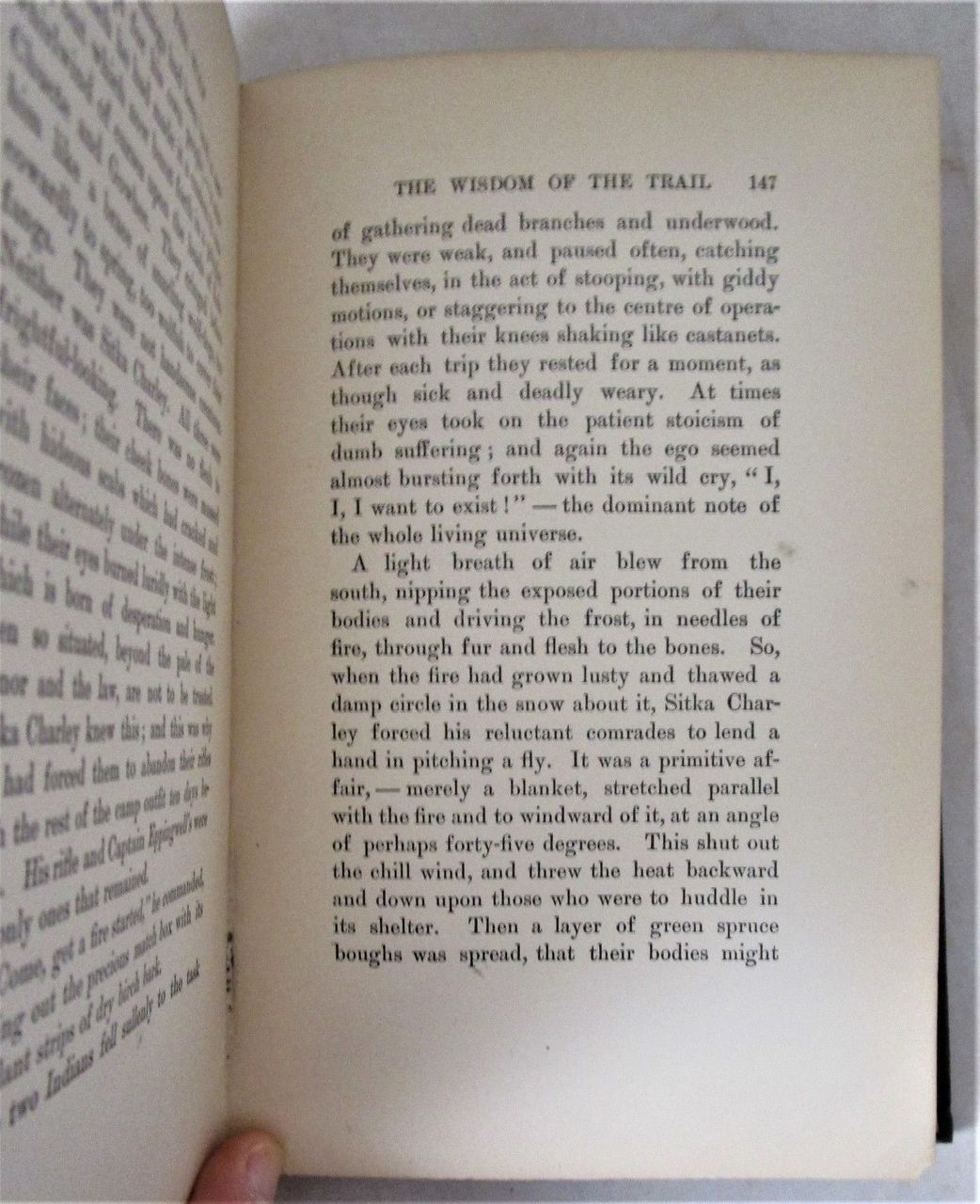 THE SON OF THE WOLF; TALES OF THE FAR NORTH, by Jack London -1900 Yukon Klondike