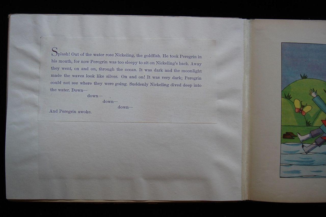 PEREGRIN & THE GOLDFISH, Tom Seidmann-Freud - 1929 [Scarce 1st Ed] Illustrated