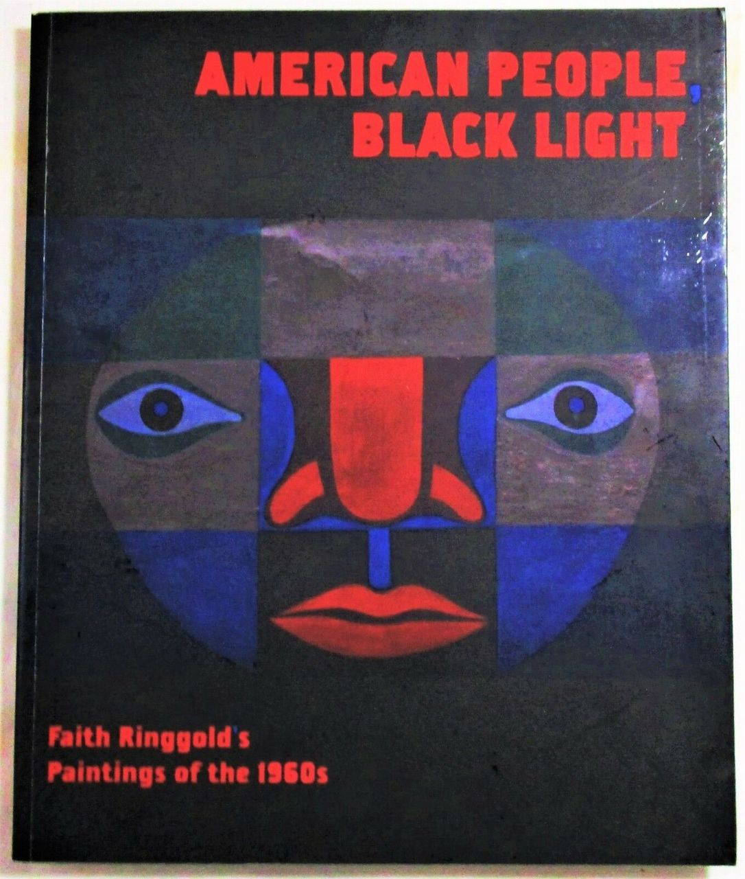 Faith Ringgold's AMERICAN PEOPLE, BLACK LIGHT - 2010 [Signed 1st Ed]