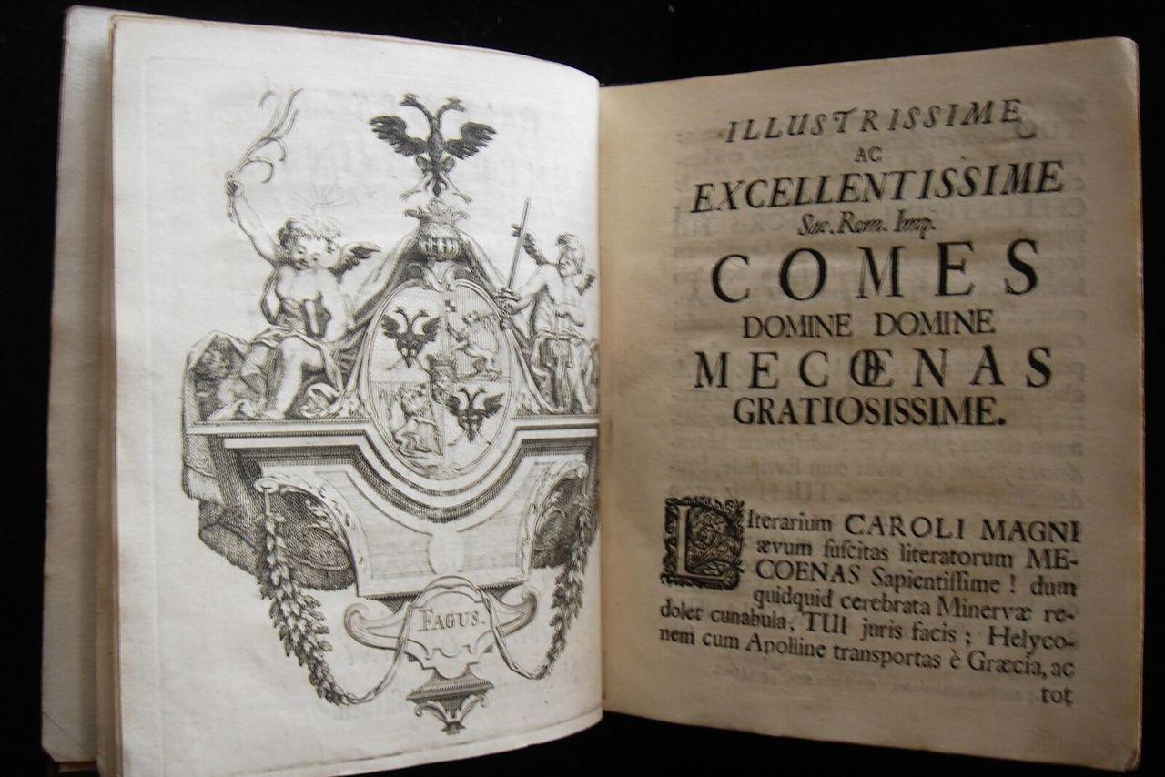 PANACEA LAPSORUM ARNICA, by Meisner - 1736 [1st Ed]