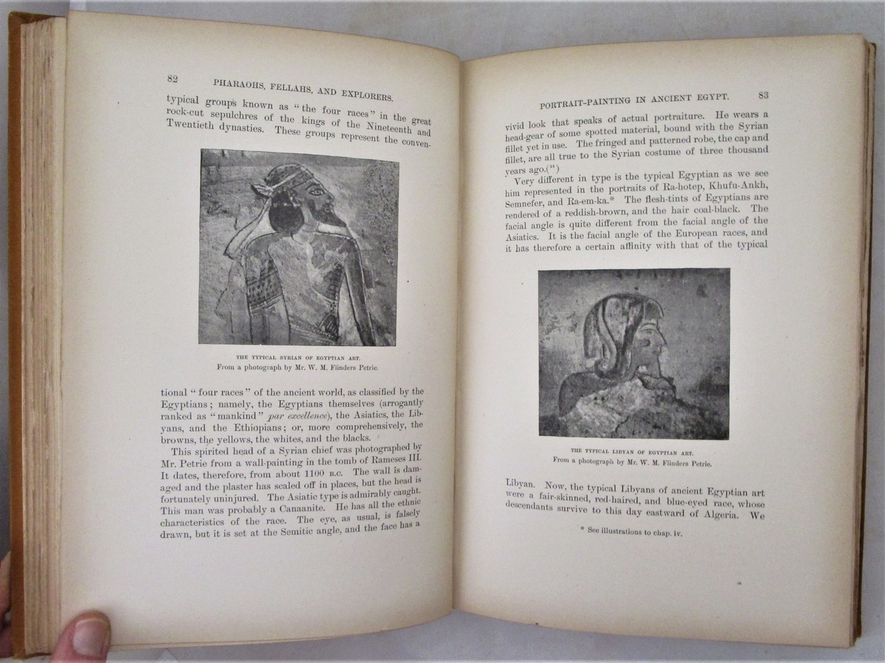 PHARAOHS, FELLAHS AND EXPLORERS, by Amelia B  Edwards - 1891 [1st Ed]