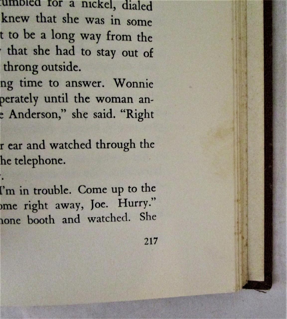 THIRD WARD NEWARK, by Curtis Lucas - 1946 [1st Ed]