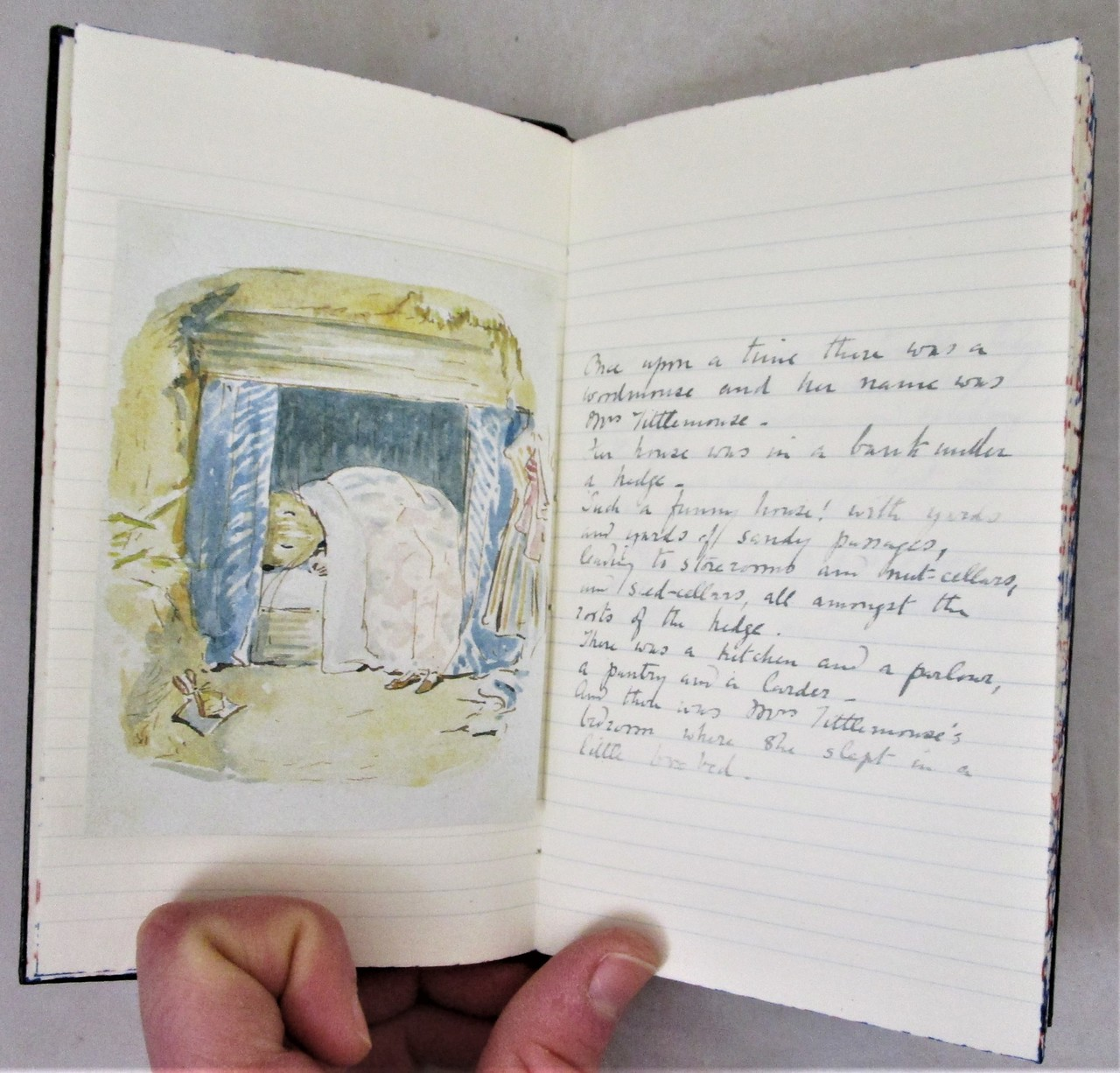 THE TALE OF MRS TITTLEMOUSE, by Beatrix Potter - 1979 [Ltd Ed Mss]