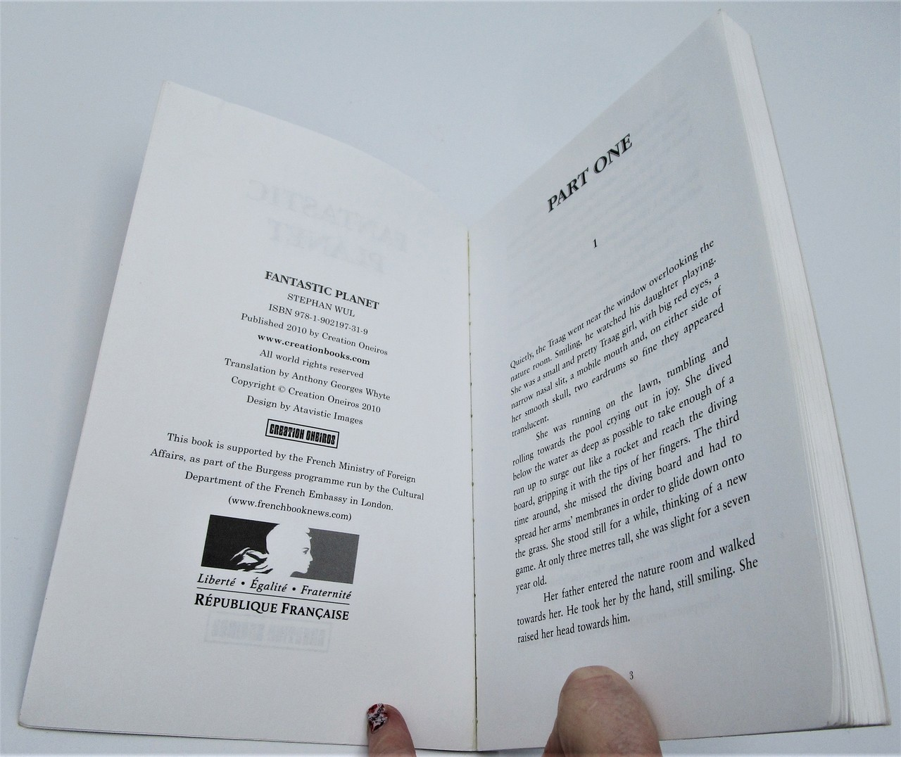 FANTASTIC PLANET, by Stephan Wul - 2010 [1st Eng Ed]